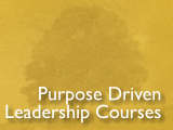 Purpose Driven Leadership Courses